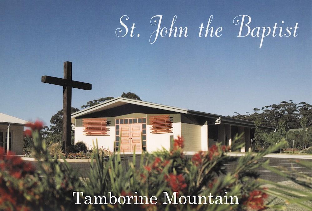 St John the Baptist, Tamborine Mountain | St Mary's Catholic Parish